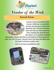 4-17 Vendor of the Week - Yurosek Farms
