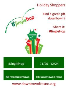 Jingle Hop Biz flyer