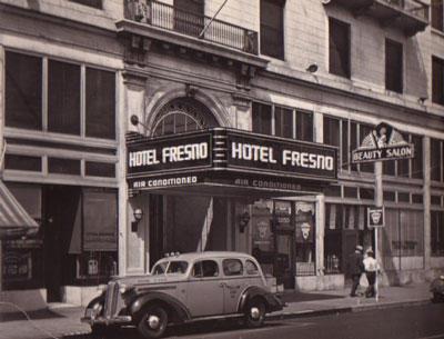 vintage fresno hotel fresno artifact display at city hall downtown fresno blog. Black Bedroom Furniture Sets. Home Design Ideas